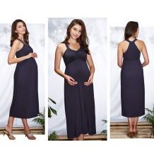Robe longue de grossesse et allaitement