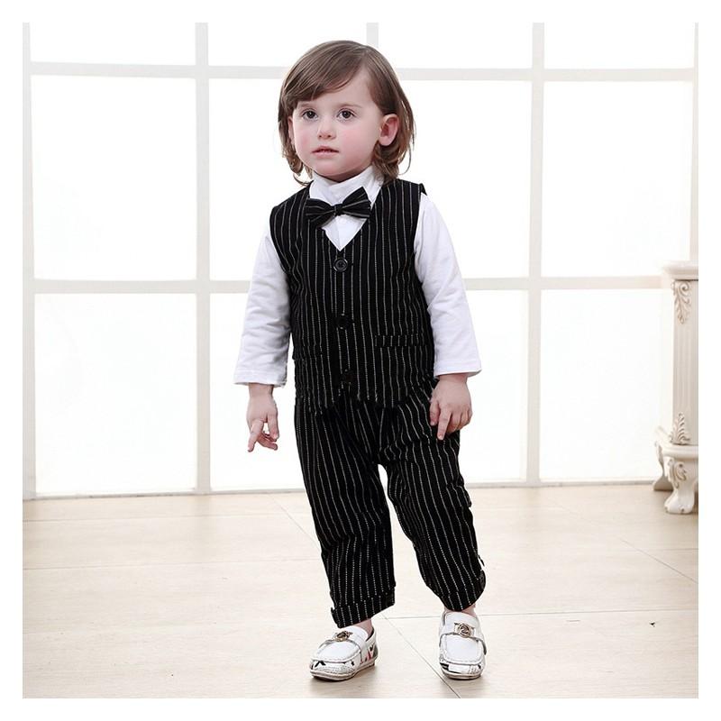 Baby boy formal suit 3 pcs 70-95 cm