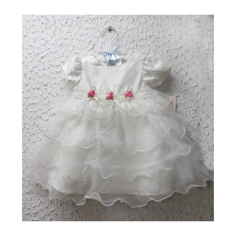 Baby Girl White Formal Dress 3 24m Sweet Mommy