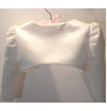 Girl Formal Bolero White 80-150cm
