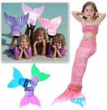 Swim fins for mermaid swimsuit model cb2003