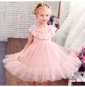 Abitino bambina damigella rosa 100-150cm