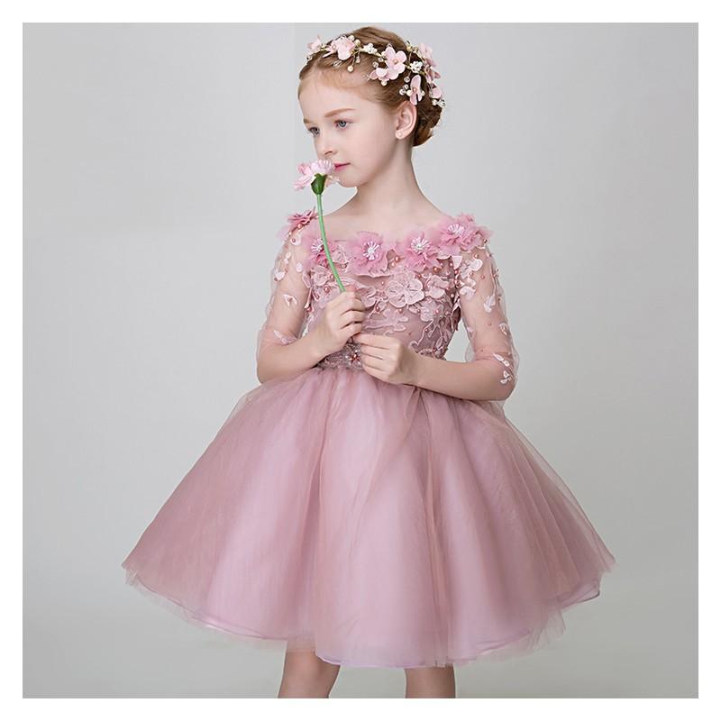 Vestiti Cerimonia 2018 Bambina.Vestito Per Damigella Bambina Sweet Mommy