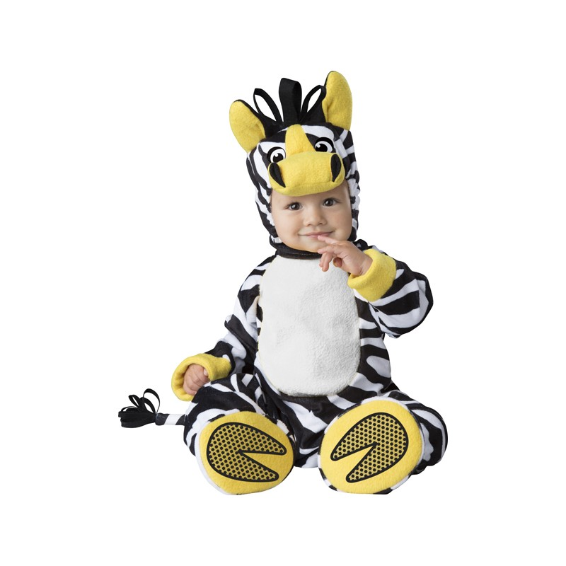 e0bfe65532a96 Costume Carnevale Zebra per bambino Incharacter 6-24 mesi