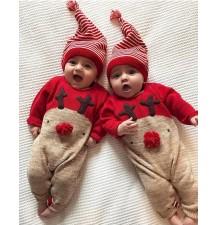 Baby Christmas jumpsuit 66-80cm