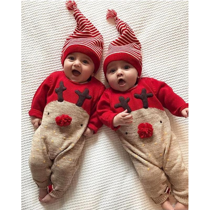 Christmas Jumpsuit Baby.Baby Christmas Jumpsuit In Cotton 66 80cm