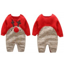 Barboteuse de Noël pour enfant en coton 66-80cm