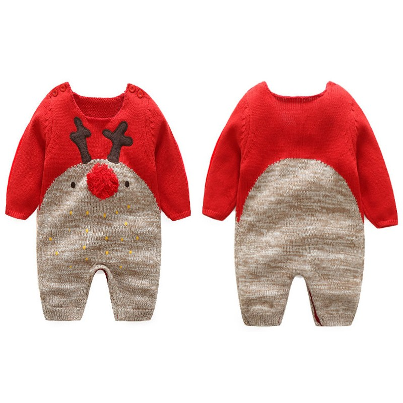 Christmas Jumpsuit Baby.Baby Christmas Jumpsuit Sweet Mommy