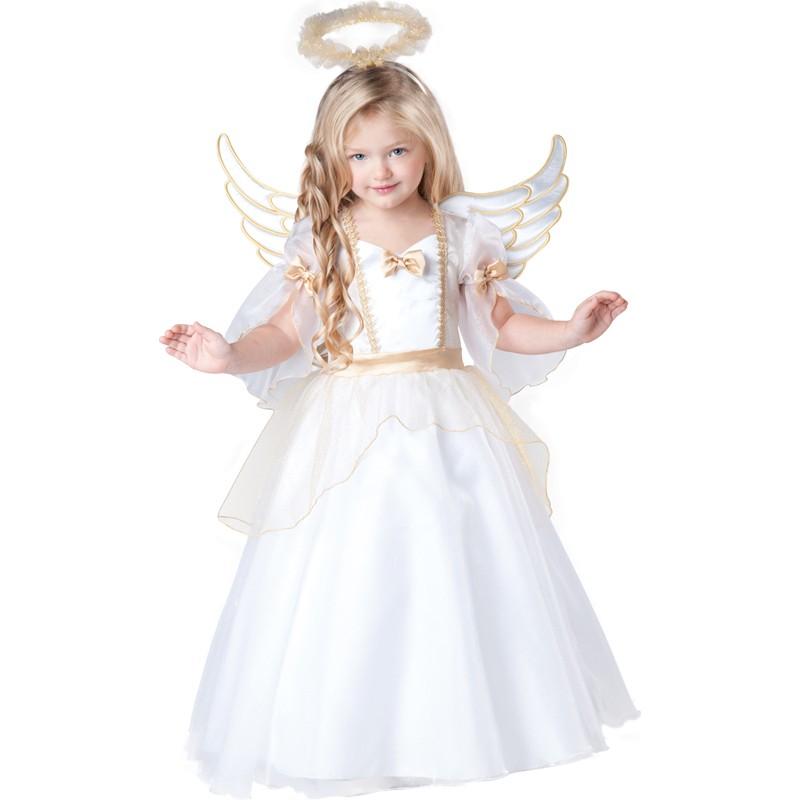 dopo fama mondiale sconto del 50 Costume Carnevale Angelo per bambina Incharacter 2-4 anni