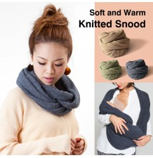 Multifunction knitted snood