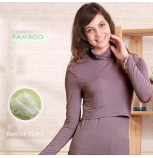 Bamboo Fabric Maternity Nursing Top