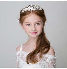 Little girl tiara for ceremonies