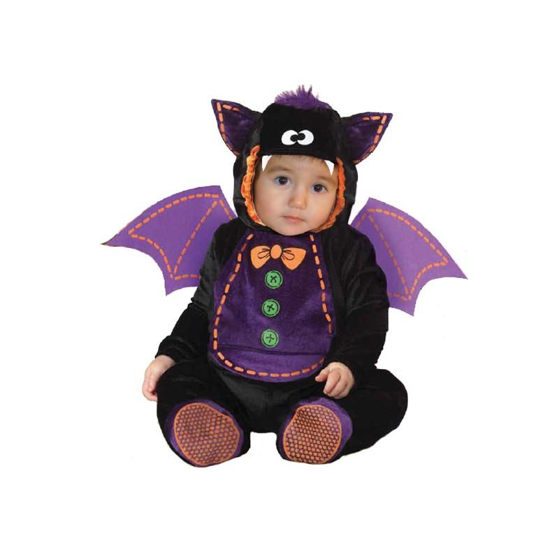 dettagli per seleziona per il più recente marchi riconosciuti Costume Carnevale Halloween Pipistrello per bambino 3 anni