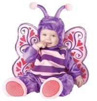 Costume Carnevale Farfalla per Bambina fino a 3 anni