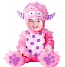 Carnival Baby Costume Little Pink Monster 4M-2T