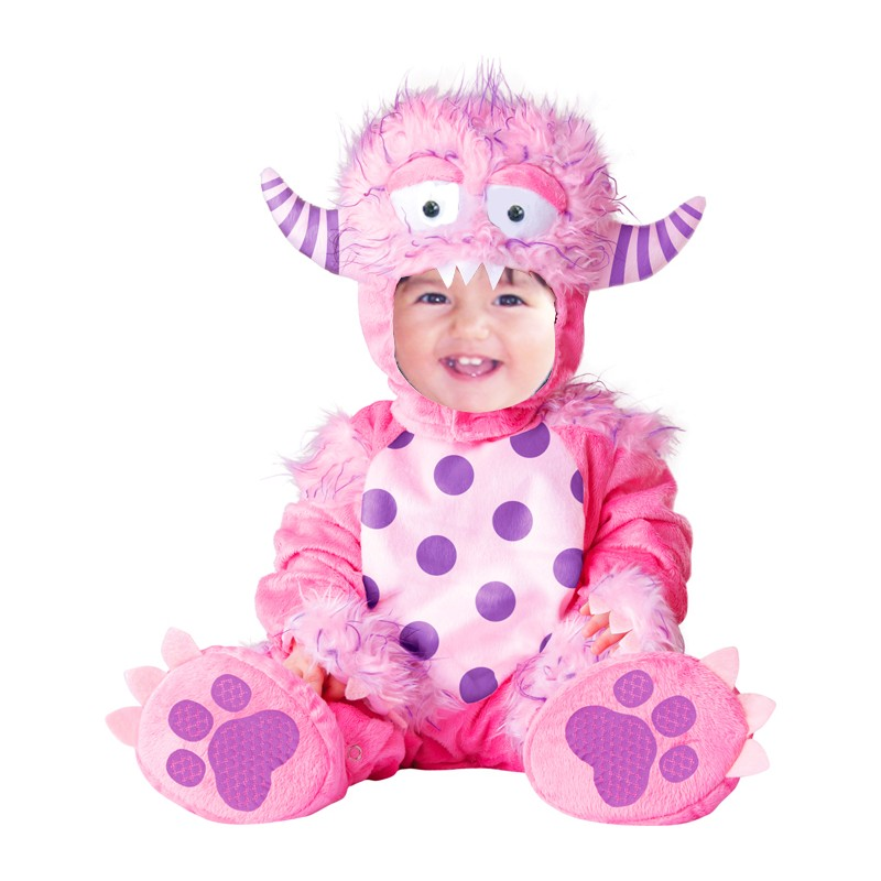 costume de carnaval monstre rose 4m 2 ans sweet mommy. Black Bedroom Furniture Sets. Home Design Ideas