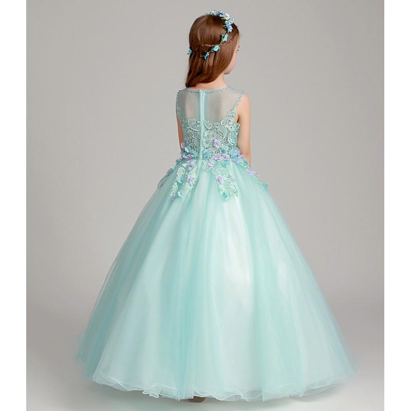 Vestiti Cerimonia Tiffany.Abito Cerimonia Per Damigella Sweet Mommy