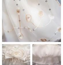Vêtement De Cérémonie De Fille De Bébé 90-100cm