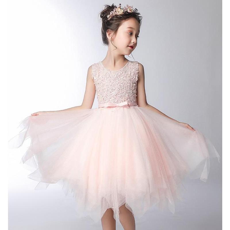 Robe Rose De Ceremonie Demoiselle D Honneur 100 160cm Sweet Mommy