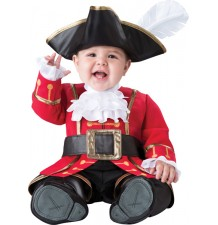 Incharacter Costume de Carnaval Enfant Capitaine Pirate 0-24 mois
