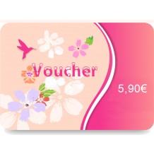 Voucher 6.50 € for return pickup
