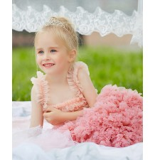 Flower girl formal dress  80-130 cm