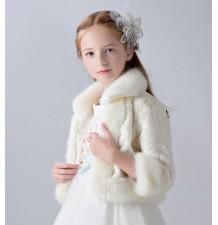 Bolerino invernale bambina 3-10 anni