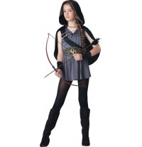 Incharacter Carnival Hooded Huntress Costume 8-14 years