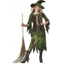 Costume Carnevale Incharacter Strega del bosco 8-14 anni