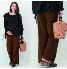 Pantalon de grossesse d'hiver avec legging