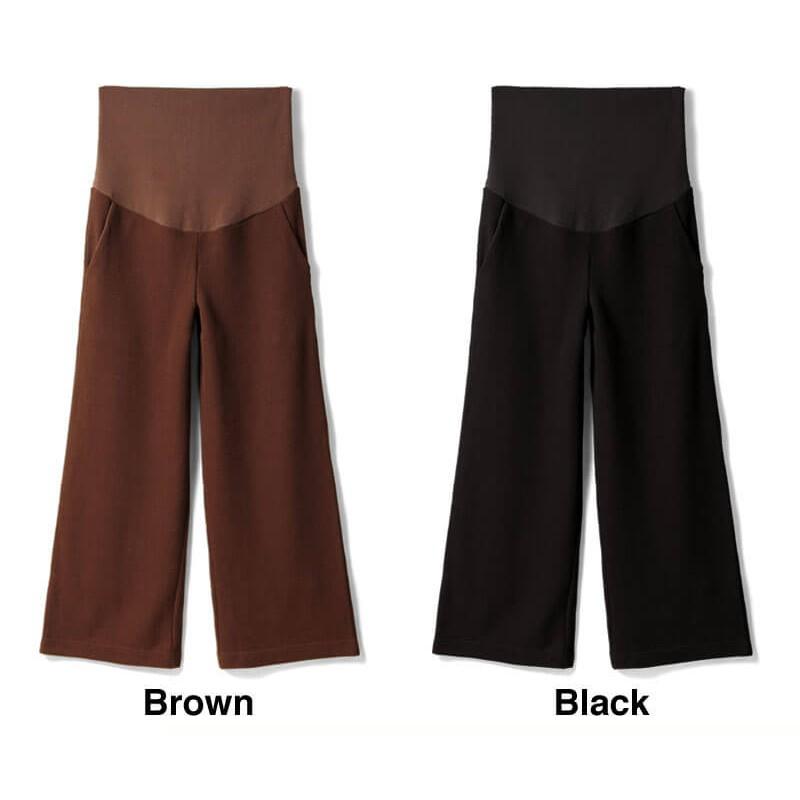 34988b471f77 ... Pantaloni premaman invernali con leggings interni ...