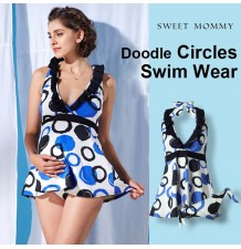 Maternity and nursing tankini swimsuit
