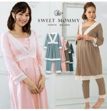 Maternity Nursing Pajamas Set