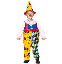 Costume Clown 4-5 anni