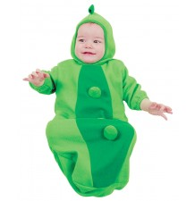 Pea in the pod costume 0-9 months