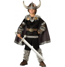 Incharacter Costume de Carnaval Guerrier Viking 3-12 ans