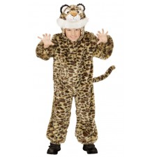 Plush leopard costume 2-5 years