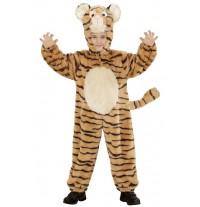 Costume de tigre en peluche 2-5 ans