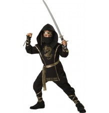 Incharacter Carnival Halloween Ninja Warrior 3-14 years