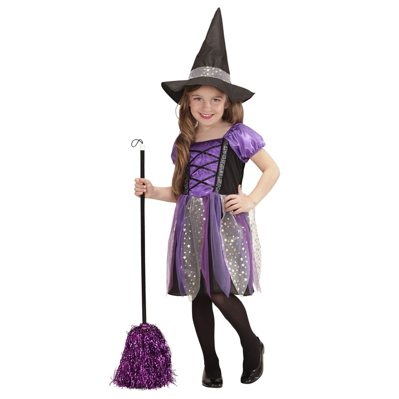 Purple little witch costume 3-5 years