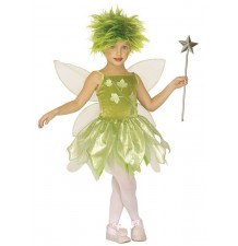 Costume Fatina dei boschi 3-7 anni