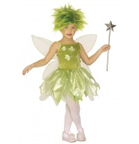 Costume de fée du bois 3-7 ans
