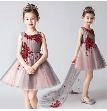 Flower girl formal dress 110-150cm