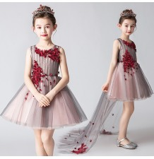 Flower girl formal dress 110-150cm
