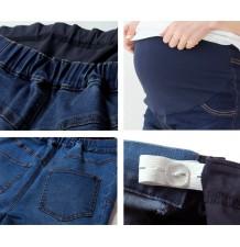 Jeans elasticizzati premaman in cotone