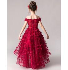Robe de cérémonie fille demoiselle d'honneur 100-160cm
