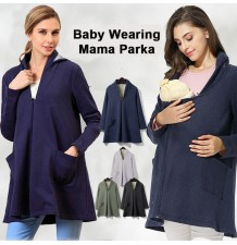 Maternity and Mom-baby overcoat