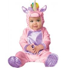 Incharacter Costume de Carnaval Enfant Unicorne rose 0-24 mois
