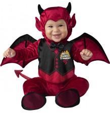 Costume de Halloween et Carnaval Petit Diable Incharacter 0-24 mois