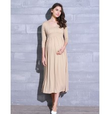 Maternity Nursing Maxi Dress